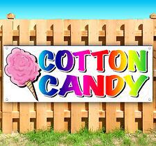 Cotton Candy Advertising Vinyl Banner Flag Sign Fair Carnival Food Usa