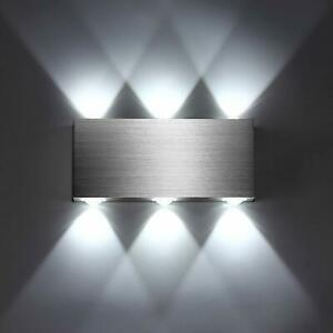 LED Wandleuchte Wandlampe Effektlampe Up Down Strahler Flur Dekoration Innen