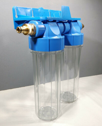 2 Stage HMA High Flow Water Filter KOI Pond Dechlorinator Chlorine Removal