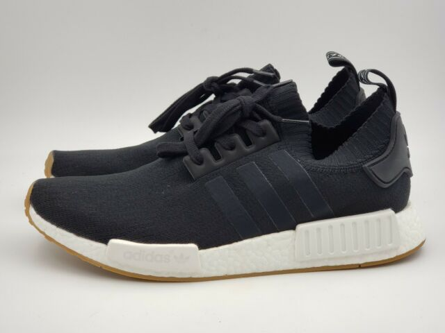 adidas NMD R1 PK Black Gum Sole By1887 12 US Mens