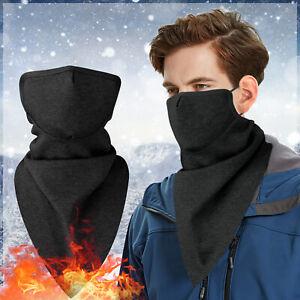 Winter Neck Warmer Gaiter Polar Fleece Ski Half Face Mask Cold Weather Snowboard