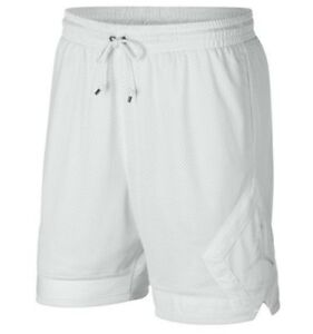 384d71276ff31c NIKE AIR JORDAN MESH DIAMOND SHORTS 939608-121 White (MEN S LARGE) L ...