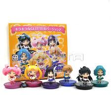 6pcs Sailor Moon Sailor Chibi Neptune Pluto Saturn Uranus Action Figure W// Box