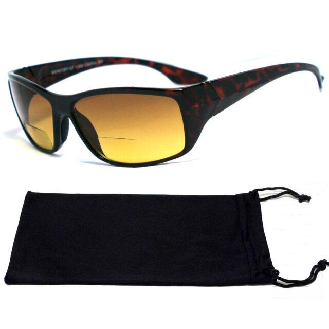 Bifocal Vision Reading Sunglasses Plastic Tortoise Brown RG01 - +1.00 to +4.00
