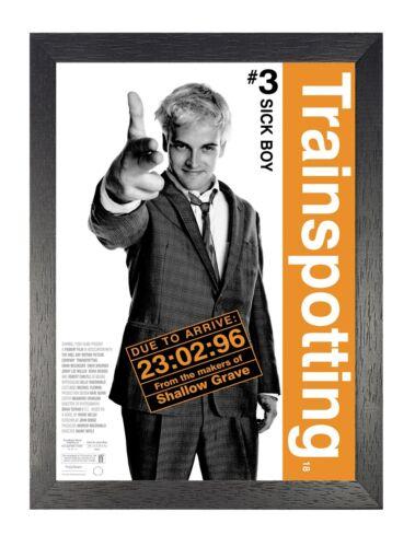 Trainspotting Classic Movie Sick Boy Jonny Lee Miller Film Advert Picture Poster