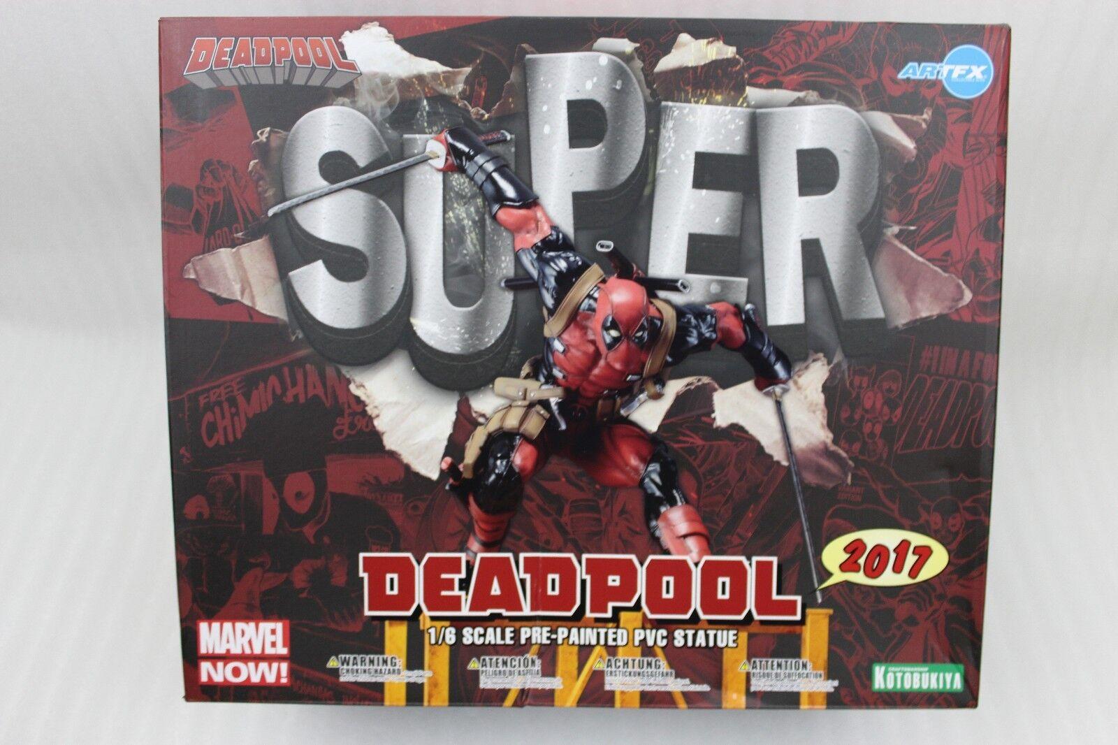 Marvel Now  Deadpool Artfx Statue Figurine Échelle 1 6 Taille 43 cm PVC Neuf