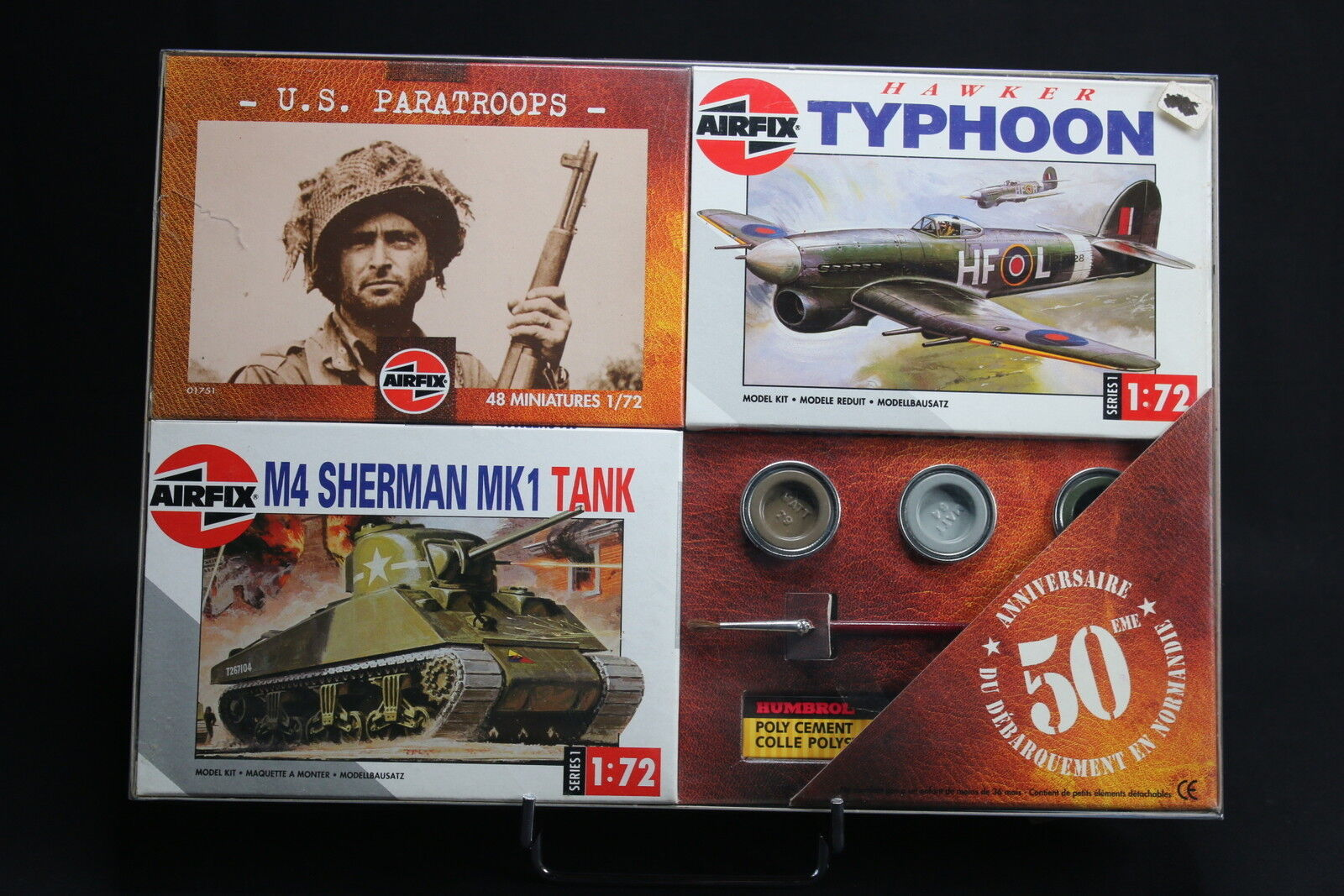 50 airfix xm013 collectionday anniversary landing 01751 01027 01303 wwii