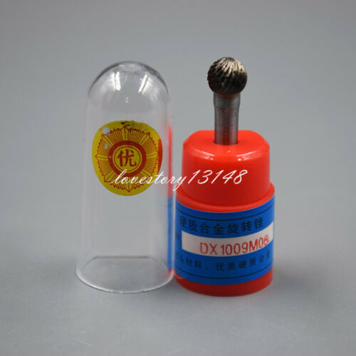 "10x Cylindrical Cut Tungsten Carbide Bur Cutting Tool Die Grinder Bit 1//4/"" D Hot"