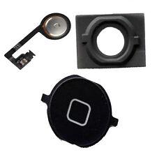 IPhone 4S Home Menu Middle Button Flex Cable Rubber Spacer Part Set Black