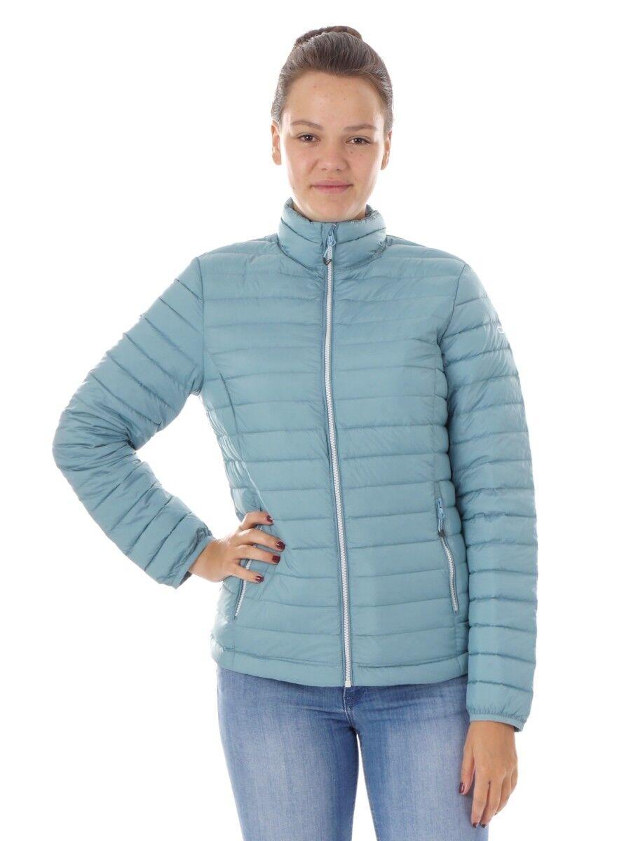 CMP plumifero función chaqueta cuello chaqueta azul impermeable
