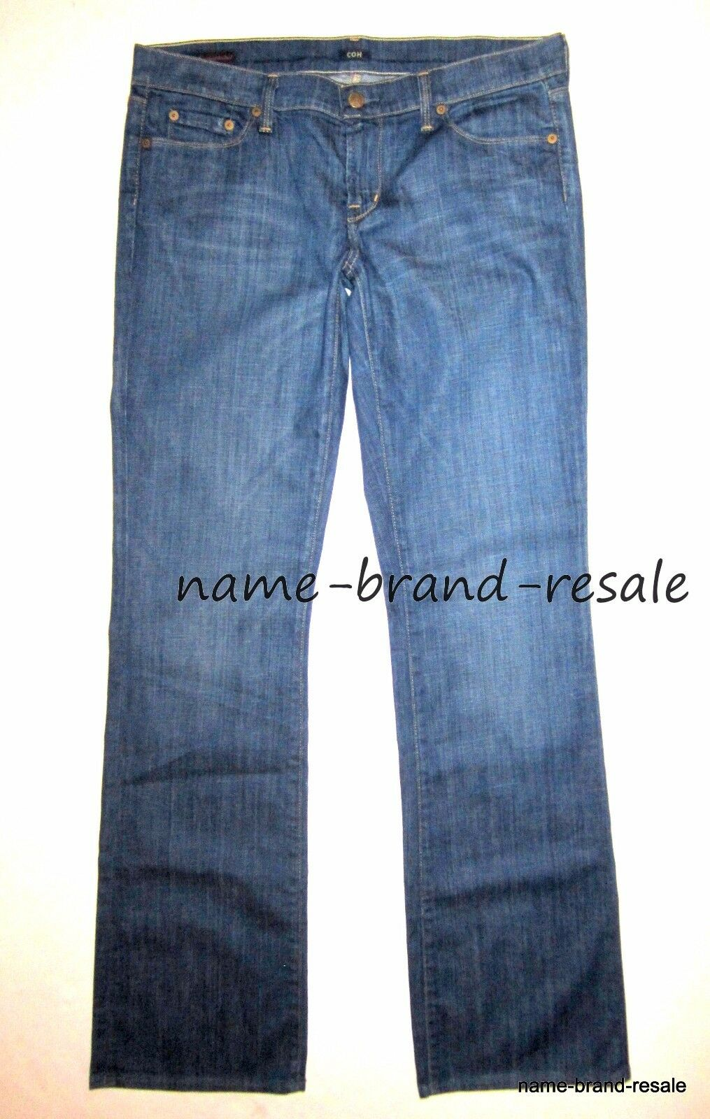 CITIZENS OF HUMANITY KELLY Bootcut JEANS Womens 31 Stretch Low Waist Boot Leg