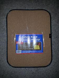 """Bulletin Board with pins! locker, dorm, kitchen, office, 8.5"""" x 11"""" cork mini"""