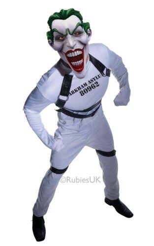 Adult The Joker Batman Arkham dressing up costume superhero villian fancy dress
