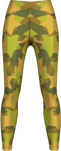 bailar /& ocio entrenamiento gimnasia Otoño bosque camo leggings elásticos para deportes