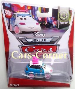 Disney-Pixar-Cars-2-Suki-das-kleine-Drift-Cars-aus-Tokyo-NEU-amp-OVP