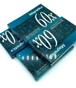 Magnetics 60X Cassette Tape 60 Minutes Blank Type I Normal Position IEC1 lot 4