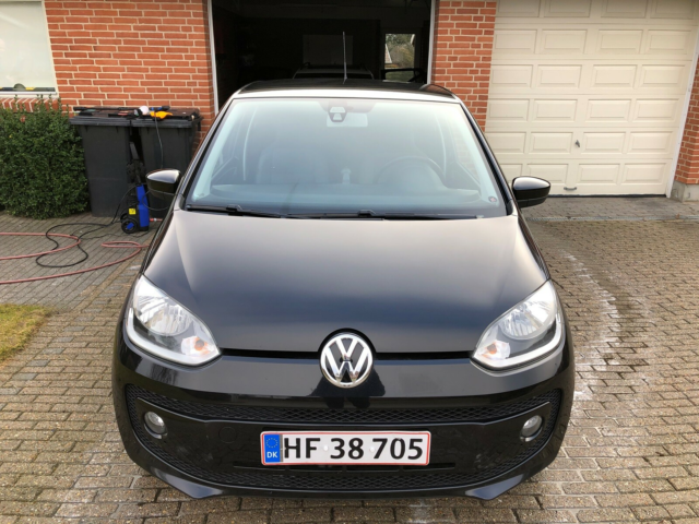VW Up!, 1,0 60 Move Up! BMT, Benzin, 2012, km 108300, sort,…