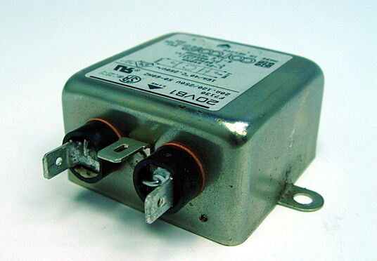 20VSB1 Fnl POWER LINE FILTER EMI//RFI 20A 1250UA