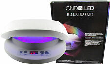 CND LED LAMP Cures Shellac GENUINE CND LAMP-UK or EU PLUG NO ADAPTOR NEEDED