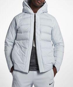 Nike AeroLoft LeBron Men's Basketball Jacket 868966-043 Pure Platinum Size L New