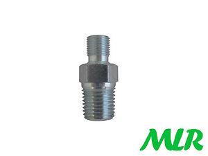 1-4NPT-a-1-8BSP-Cono-MANOMETRO-DELL-039-OLIO-MOTORE-FORD-linea-di-tubo-ADATTATORE-MLR-QN