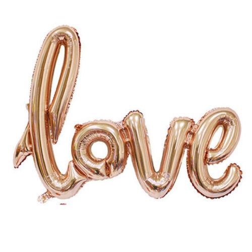 New LOVE Foil Balloon Birthday Wedding Party Anniversary Decor Helium Balloon US