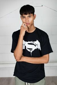 Sale-Official-Batman-V-Superman-Beaten-Logo-Unisex-T-Shirt-Gotham-Dawn-Justice