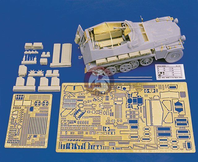 Royal Model 1 35 Sd.Kfz.250 1 le Spw Alte Update Set (Dragon 6117) [with PE] 237