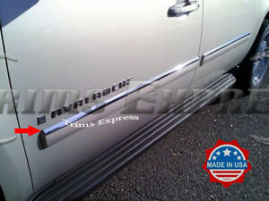 2007-2009-Chevy-Avalanche-Suburban-Body-Side-Molding-Trim-Overlay-Steel-Top-1-034
