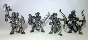 Amazons-4-Female-Plastic-Toy-Soldiers-from-Russia-54mm-Oritet-RARE