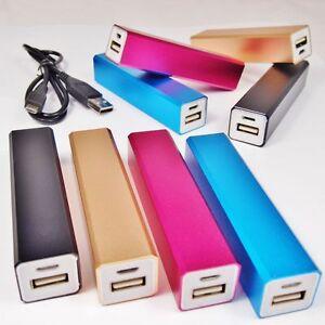 POWER-BANK-mobiler-externer-Akku-USB-Kabel-extern-2600-mAh-fuer-SMARTPHONE-Handy