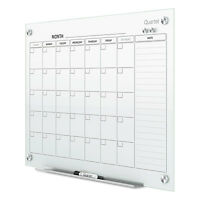 Quartet Infinity Magnetic Glass Calendar Board 48 X 36 Gc4836f on sale
