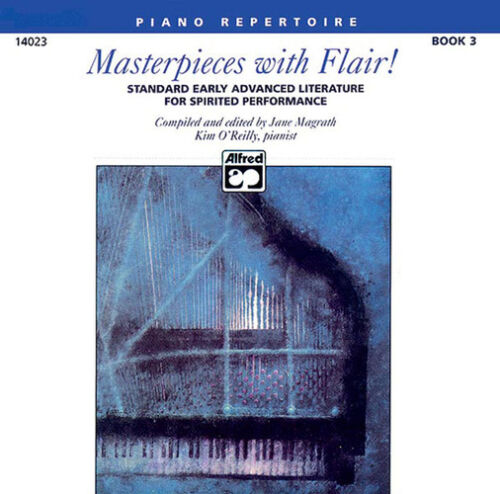 MASTERPIECES WITH FLAIR 3//CD 14023 Piano Solo ALFRED