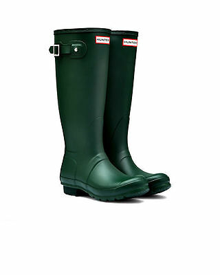 HUNTER ORIGINAL TALL WOMEN'S RAIN BOOTS WFT1000RMA- SIZE 6
