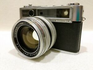 EXC-Yashica-Lynx-14-Rangefinder-Film-Camera-45mm-f1-4-JAPAN