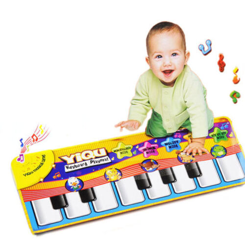 New Touch Play Keyboard Musical Music Singing Gym Carpet Mat Kids Gift Trendy