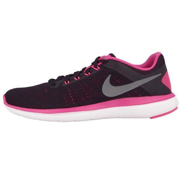NIKE Flex 2016 Run donna Scarpe scarpe scarpe scarpe da ginnastica Donna viola grigio rosa 830751-501 FREE 091831