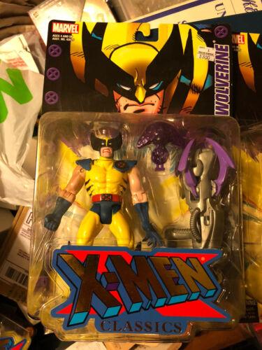 X-Men Classics Wolverine with Light-Up Claw Blaster Marvel Toy Biz 2000 New!