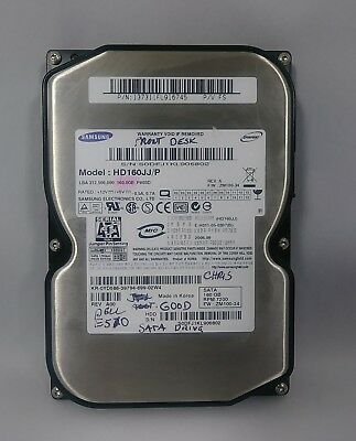 HD160JJ SAMSUNG 160GB 3.5/'/' SATA HDD HARD DRIVE