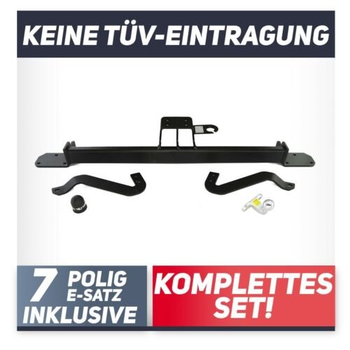 Für Peugeot Boxer II Kasten//Minibus 06-14 auch L4//XL Anhängerkupplung starr+ES7p