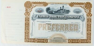 United Traction Company Stock Certificate