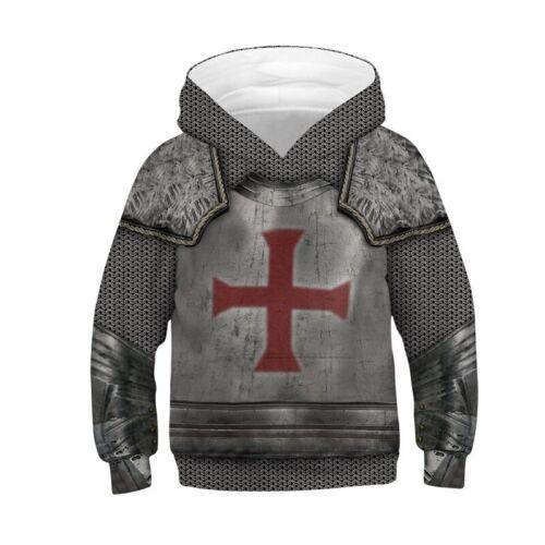 Kids Boys Girls Hoodies Sweatshirt 3D Graphic Pullover Jumper Jacket Coat Tops