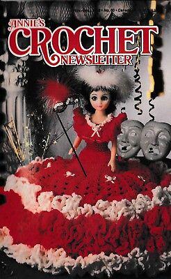 November-December 1985 ~ 28 crochet patterns 18 Annie/'s Crochet Newsletter No