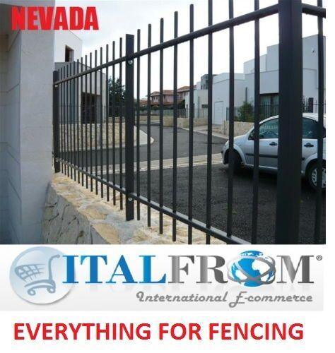 Fer forgé galvanisé (Nevada) Clôtures en panneaux