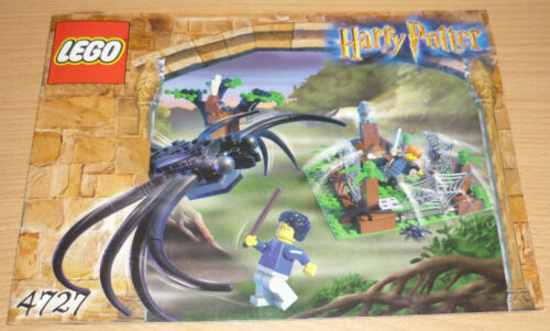 only instruction Lego Harry Potter 4727 Bauplan