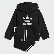 Deals on adidas Originals Trefoil Hoodie Set Kids