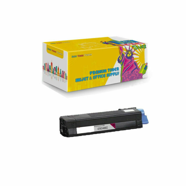 Works with: C3100 C3200 C3200N Magenta On-Site Laser Compatible Toner Replacement for Oki-Okidata 43034802 C3100N