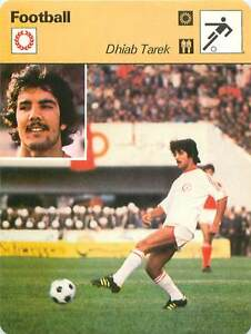 FICHE-CARD-Dhiab-Tarek-Tunisie-Tunisia-FOOTBALL-1970s