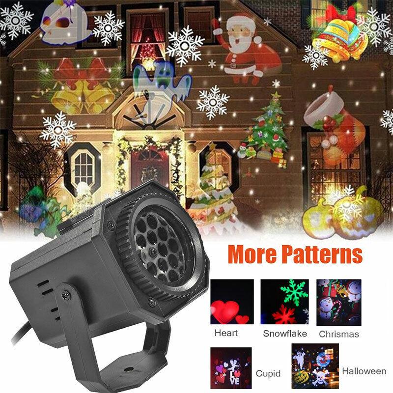NEW Christmas Lights Projector LED Laser Outdoor Landscape X