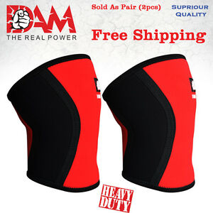 DAM-Knee-Sleeve-Power-lifting-Weightlifting-Patella-Support-Brace-Protector-gym
